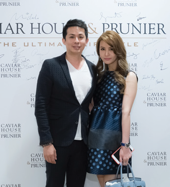 3. James Shing and wife Michelle Chua.